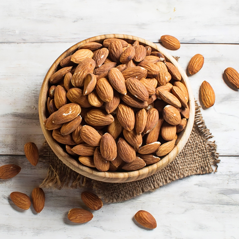 Almonds are good for your health