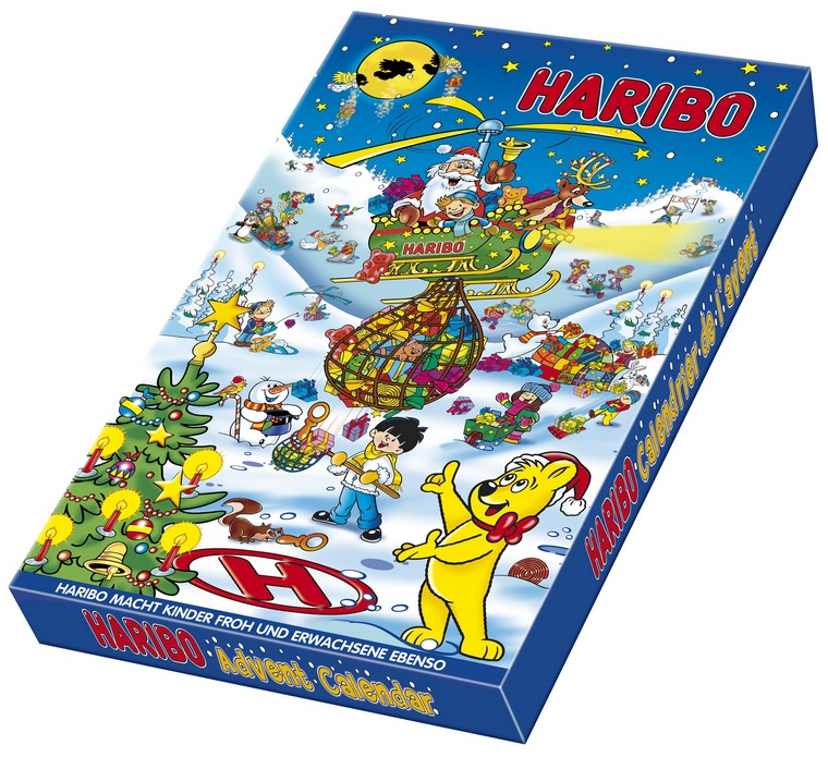 Haribo Advent Calendar Gift