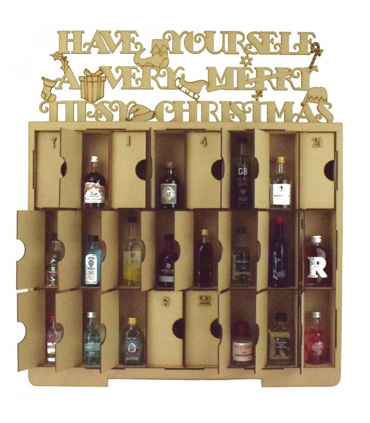 alcohol for every day before Christmas