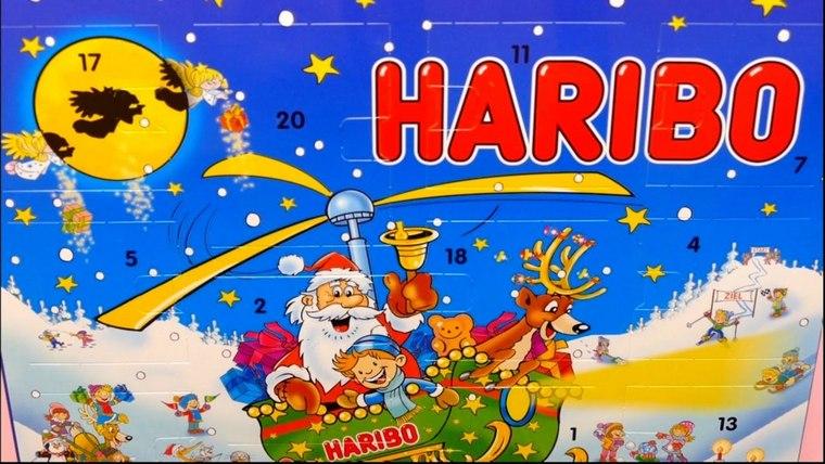 Christmas gift boxes Haribo