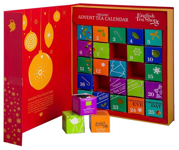 Christmas calendar 24 teas