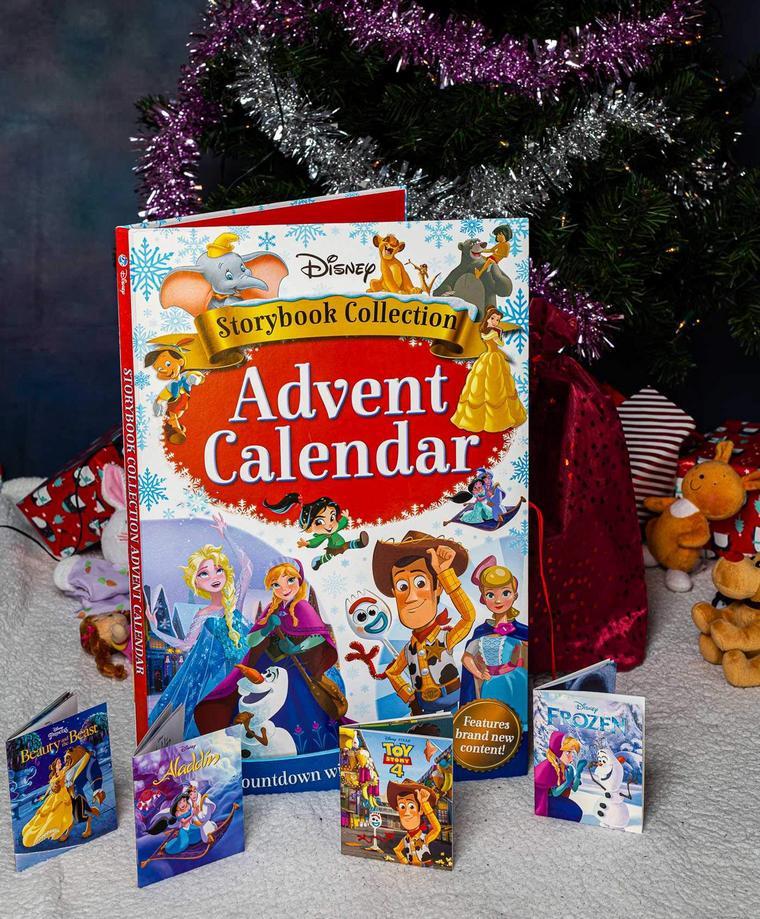 calendar small books tales Disney