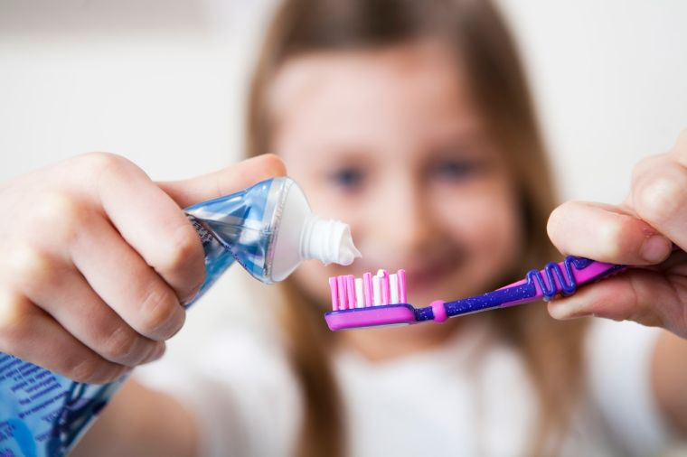 child toothpaste for oral health