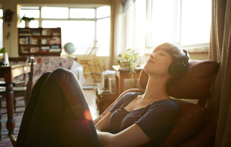 de-stress with music