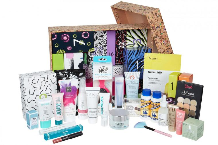 try various beauty products