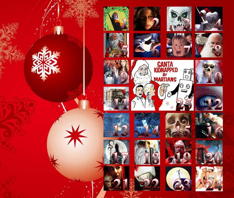 Advent Calendar Christmas Movies