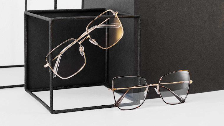 frame oversize eyeglasses