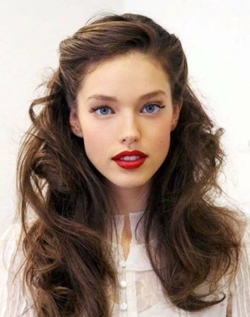 hairstyles with long hair waves