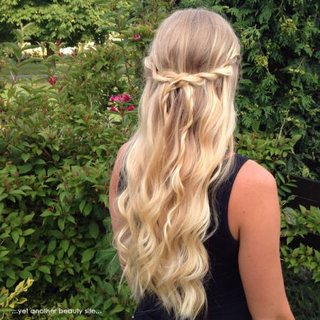 hairstyles with semi-picked twist waves