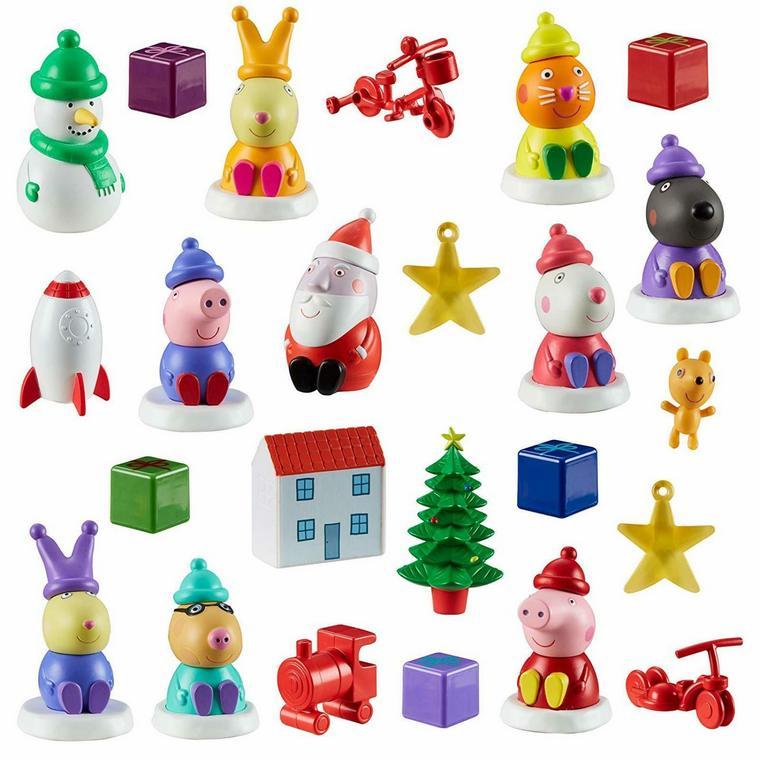 peppa pig calendar Christmas