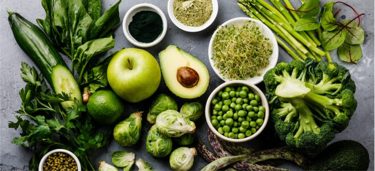 diet to clean the intestines