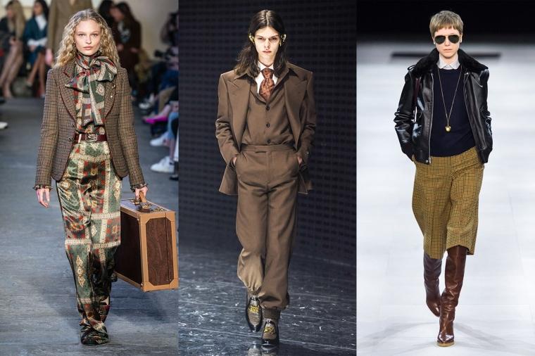 tendance mode hiver 2019-2020 costumes