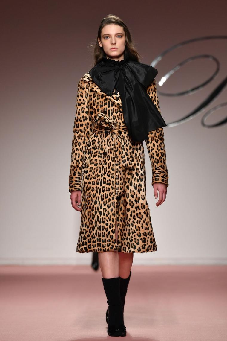 manteau léopard tendance mode hiver 2019-2020