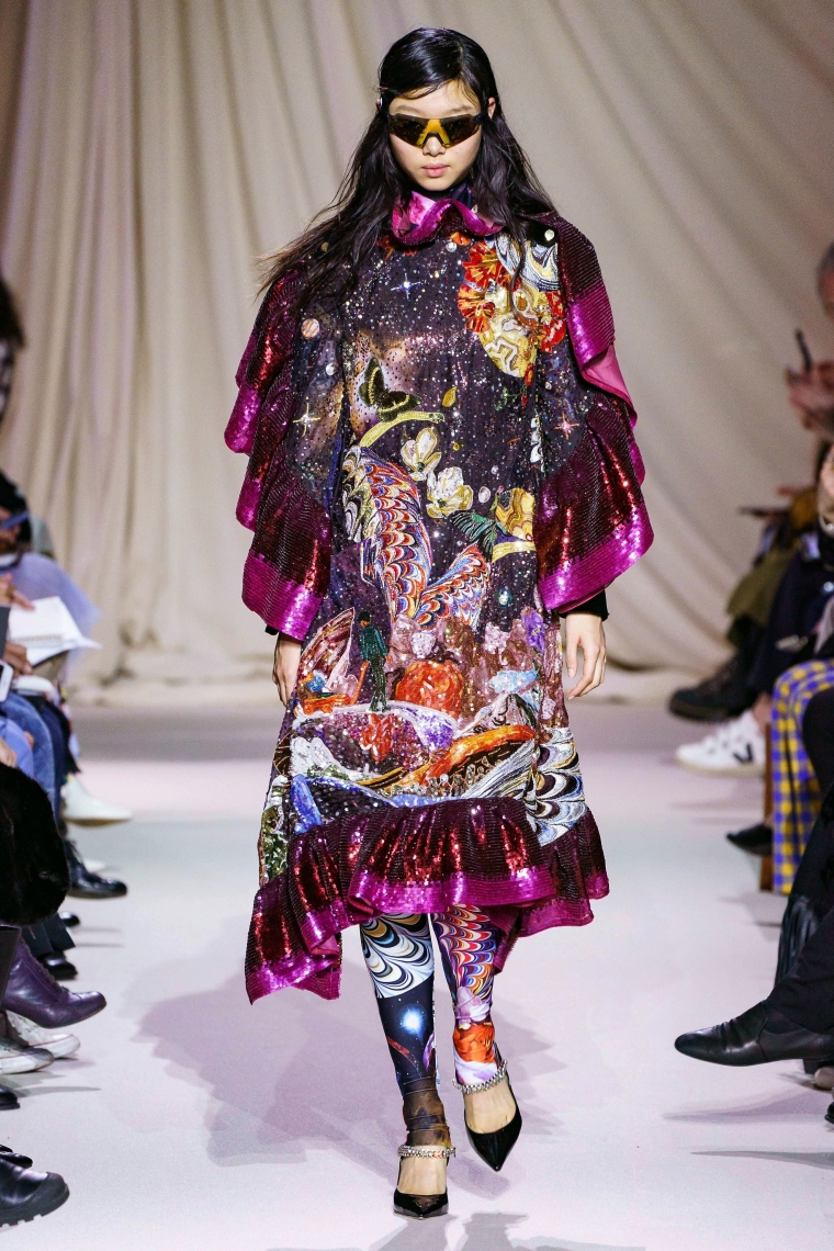 tendance mode hiver 2019-2020 patchwork