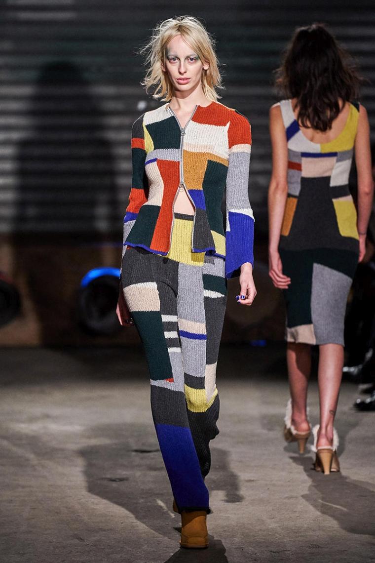 vêtements patchwork pour l'hiver