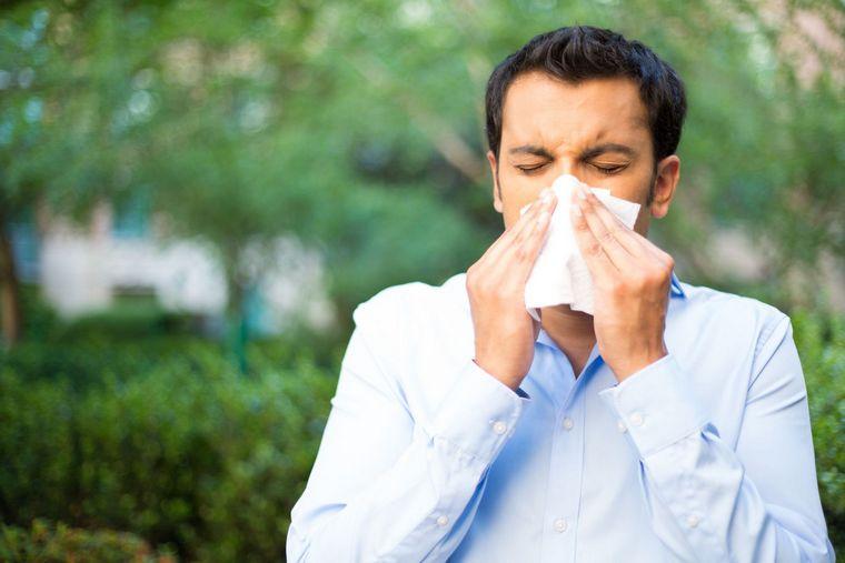 increase pollen allergies dangerous air