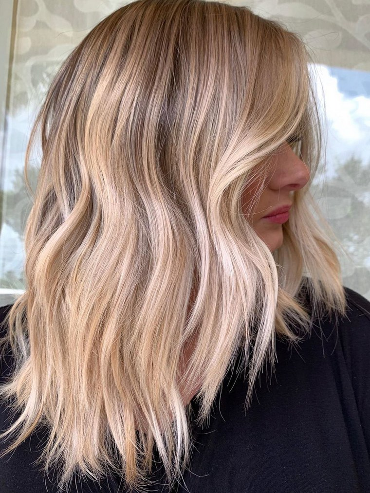 large variety of colored hair