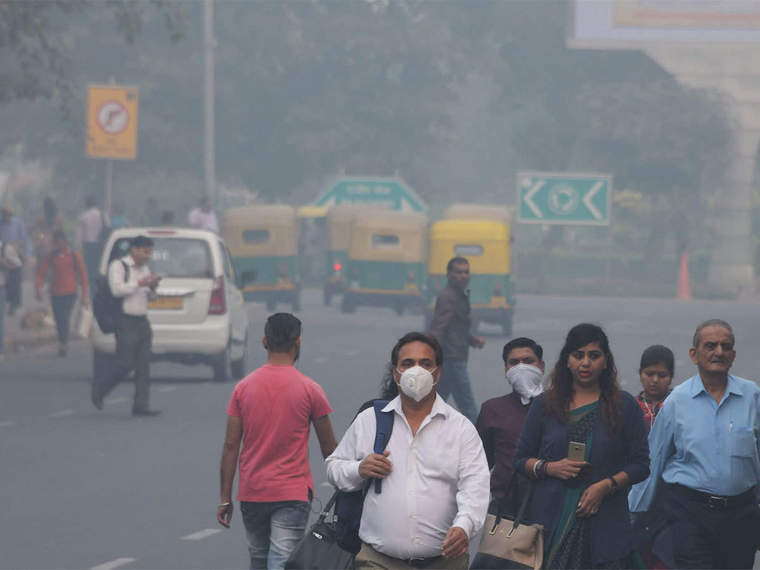 effects risk breathing pollution
