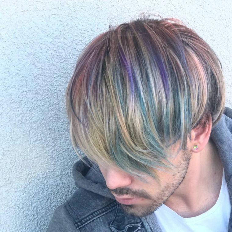 women men hair coloring