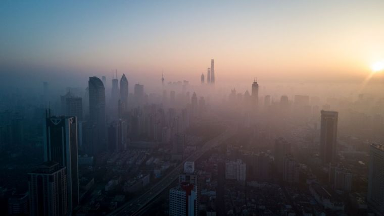 air pollution in big cities