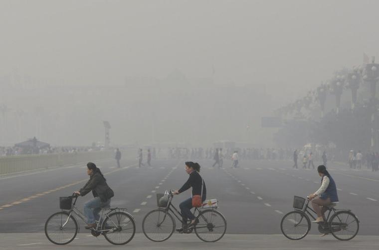 do not do physical activity air pollution