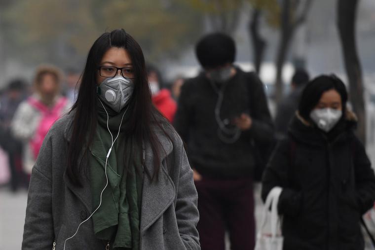 wear air pollution mask