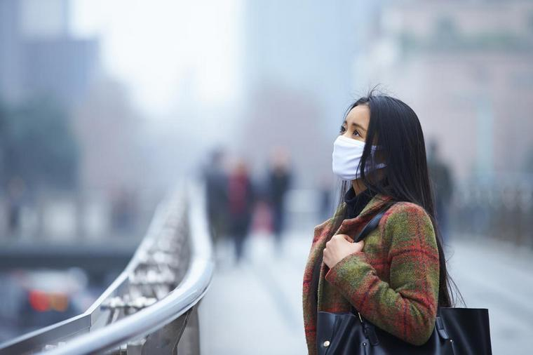 which gestures to adopt polluted air