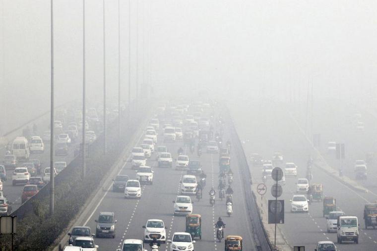 smog fog pollution cities