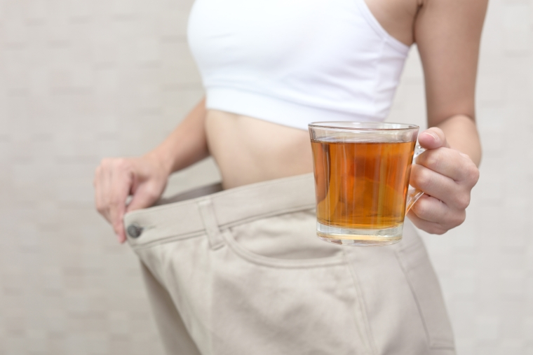 detox tea helps to lose weight