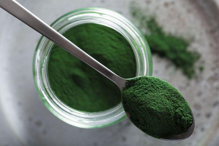 addition of spirulina nutritional supplement