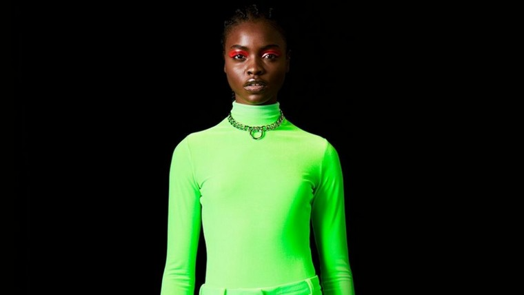neon blouse color