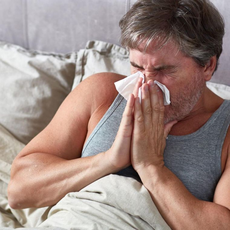 2020 flu and stuffy nose