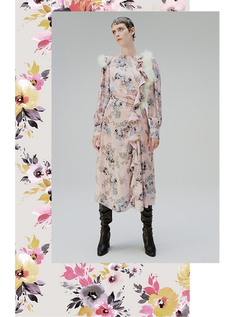 flower print dress dress