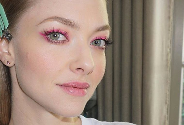 trendy eye shadows in pink