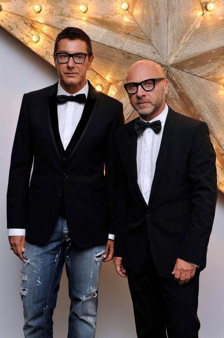 Domenico Dolce Gabbana couple