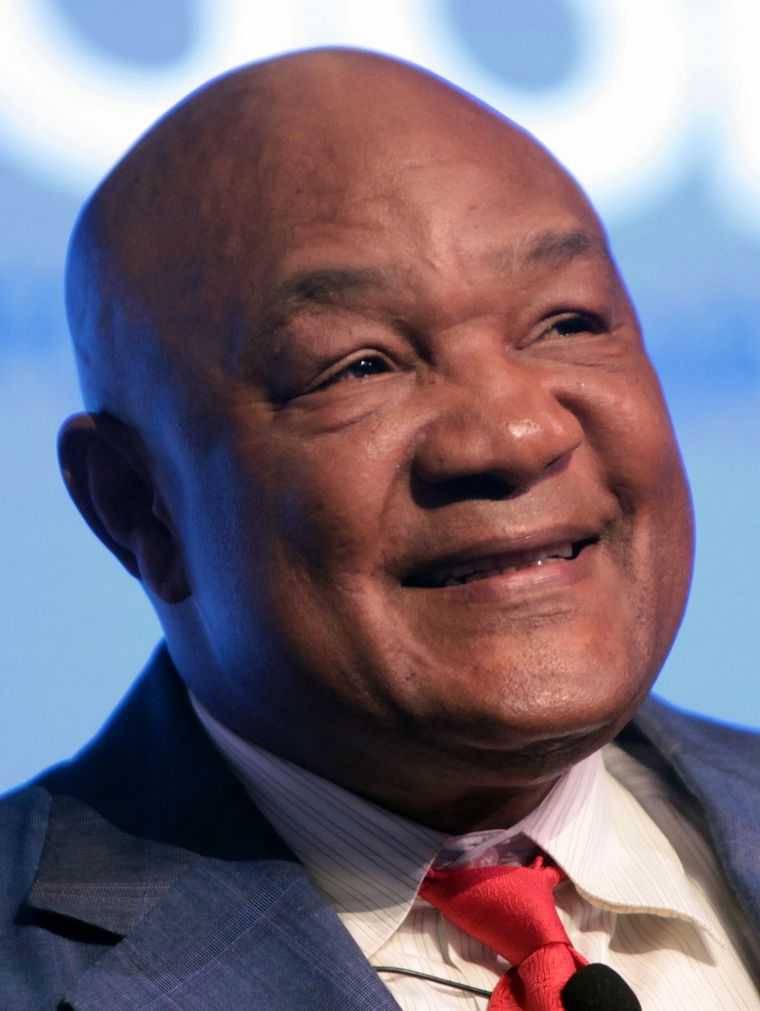 George Foreman known boxer