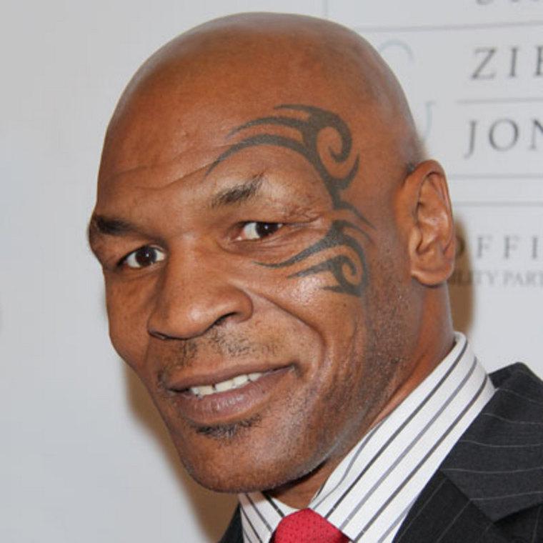 Mike Tyson bald boxer