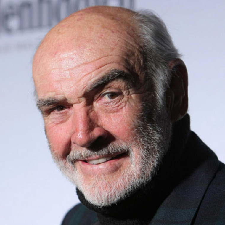 Sean Connery most beautiful bald