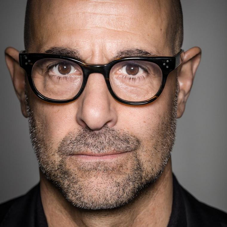 Stanley Tucci baldness beauty