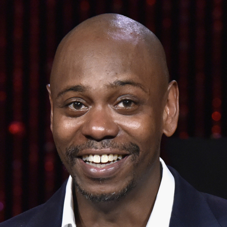 Dave Chappelle laughing endlessly