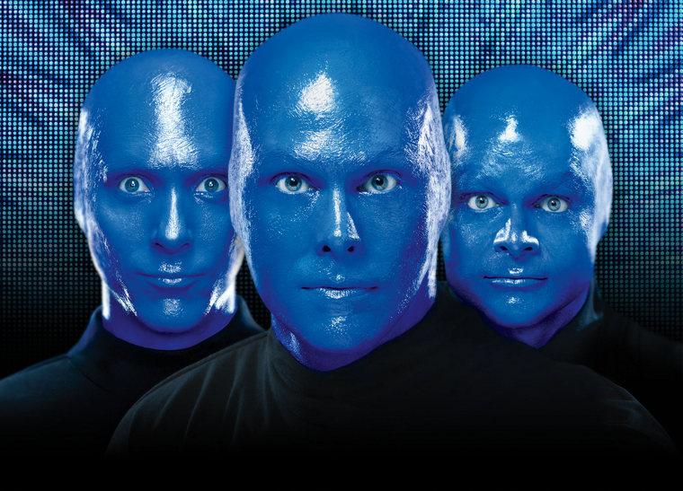 Blue Men music group