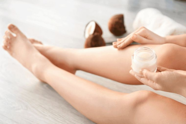 coconut oil as a lotion