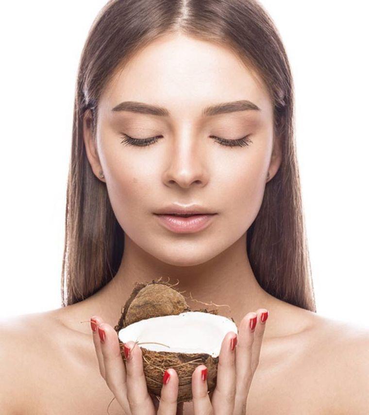 coconut oil for face skin
