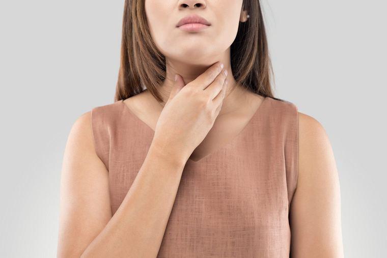 sore throat red tonsils