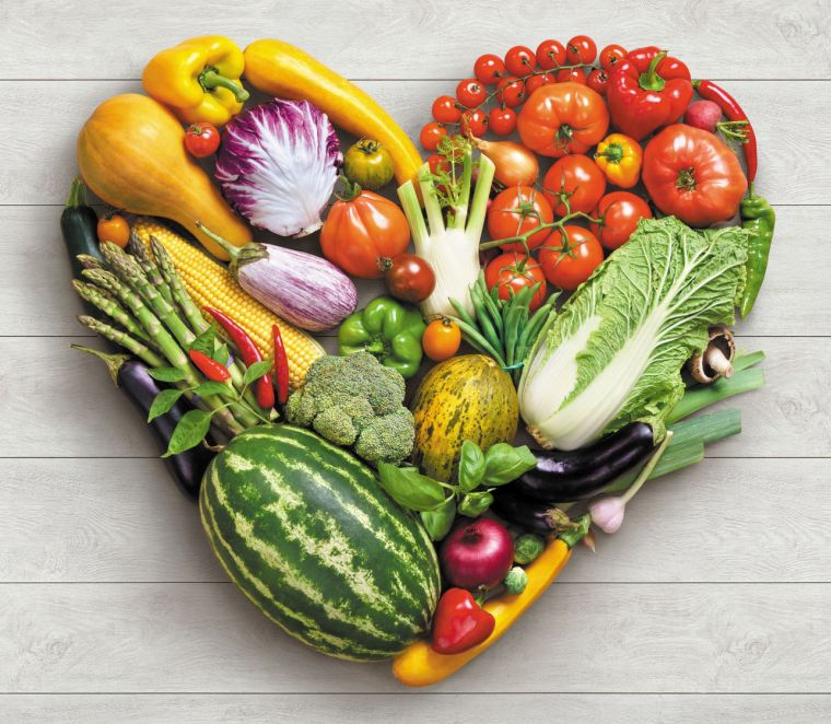 the vegetable diet is good for the heart