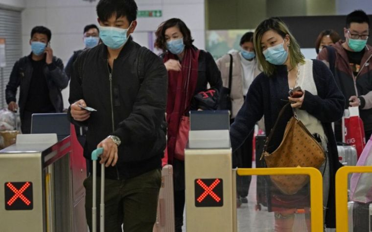 the new coronavirus in China