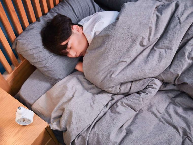 sleeping improves health
