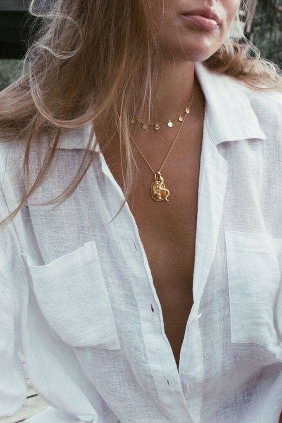 trendy necklace summer 2020