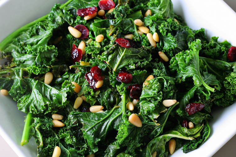 green salad idea boost your immunity