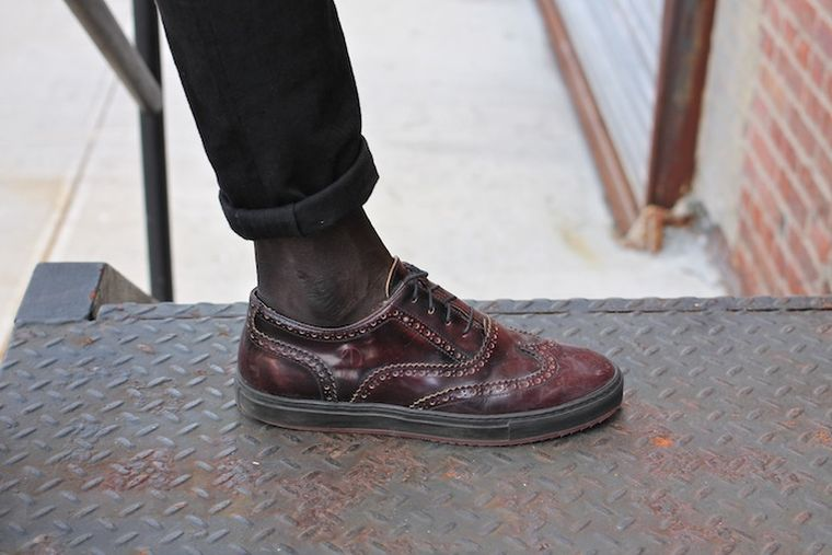 modern shoe model